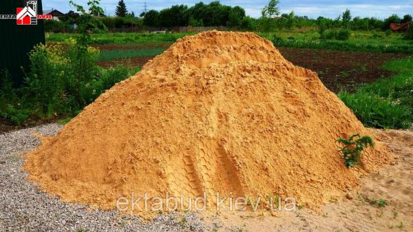 Песок овражный (карьерный)